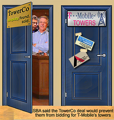 SBA buys out TowerCo's portfolio