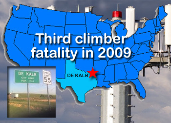 Tower Worker Death In Texas
