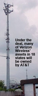Verizon Wireless Cell Tower