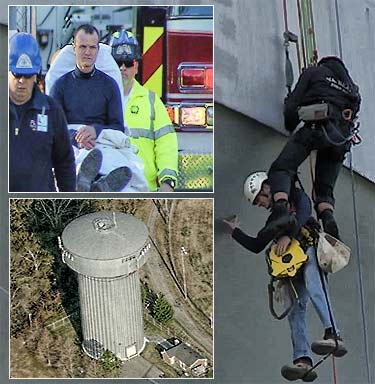 100% tie-off saves tower tech's life in Virginia
