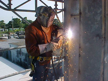 Welding On Towers 1