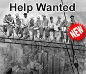 Tower Construction Help Wanted