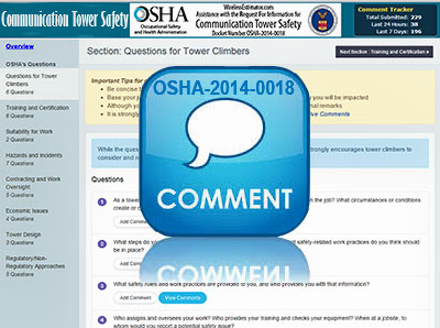 OSHA-Tower-Safety-Comments