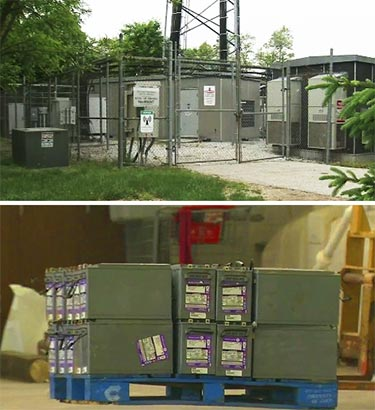 Following the investigation of the theft of batteries at this Upper Merion Township, Pa. cell site, a technician reportedly will be charged with stealing over 4,000 batteries through the Northeast.  Many of the batteries had an Alcatel-Lucent label on them.