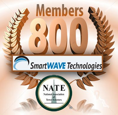 SmartWave Technologies became the 800th member of NATE, a record high for the trade group.