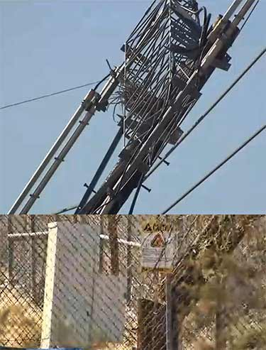 Sabotage seen as cause for American Tower cell tower