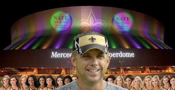 The dome has been the venue for seven Super Bowls, five Final Fours and it will host the NATE reception on Feb. 22, 2016 along with the Saintsations. New Orleans Saints Head Coach Sean Payton will provide the Association's keynote speech on Wed., Feb. 24.
