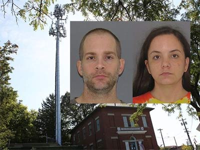 Instead of standing by her man, Rachel Cowan stood lookout for her man, but she and Michael were finally arrested after a multi-state battery theft spree