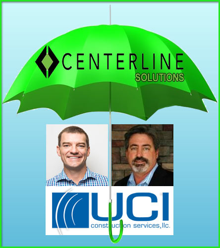 UCI Construction Services is now under the umbrella of Centerline Solutions' numerous acquisitions. Both Centerline CEO Benjamin Little (left) and UCI CEO Todd Schlemmer said their commitment to safety, training and quality align extremely well.