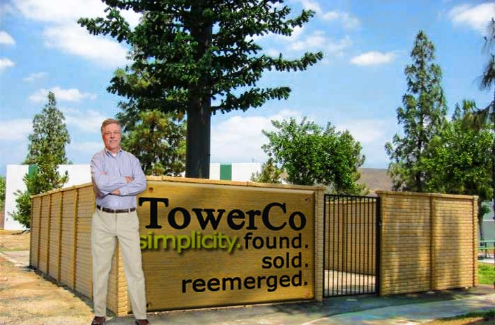 TowerCo CEO Richard Byrne already has build-to-suit towers in the pipeline