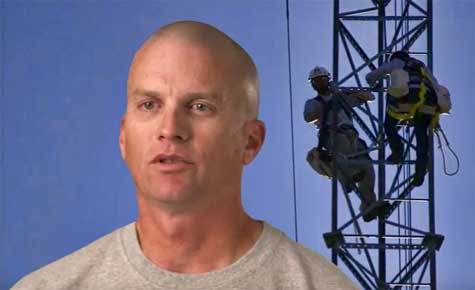 Brent Jarvis narrates the informative video on working in harsh weather conditions.