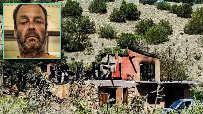 Brian Dorais said he didn't kill his wife when she died during a house fire the home they shared. He was arrested after weeks later he tried to fire bomb towers on Sandia Crest, NM.