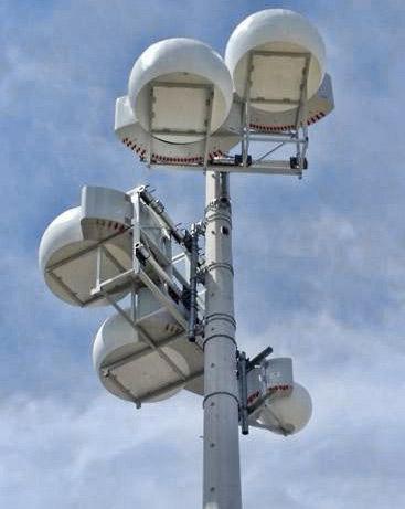 AT&T drum set antennas
