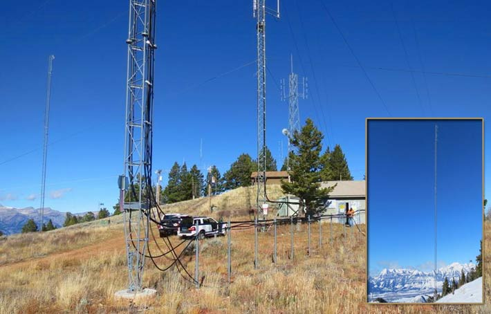 Rich Broadcasting was paying $6,000 a month to American Tower for space in a transmitter building and space on a tower on Snow King Mountain, Wyo. for station KMTN and KZJH. Two other stations owned by Rich, KJAX and KSGT, paid $750 each to lease locations on the mountain on sites also maintained and managed by American Tower through a permit with the U.S. Forest Service.