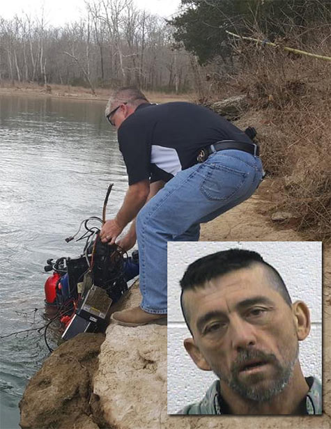 Frank Thomas Aldridge was arrested after stealing radio equipment that he found out he could not sell and dumped it in a river.