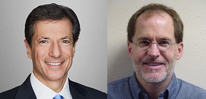 Ken Simon (left) and Robert DeBroux will chair the two FCC workings groups