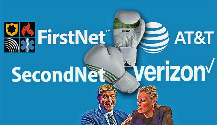 "FirstNet Chairwoman Sue Swenson informed Congress in 2015 that the broadband network for first responders will be successful if the private sector gets on board and supports it. And if it if couldn't be operational by 2022, she said, ""we should be shot"". It is likely that she is entertaining that action against Verizon Wireless CEO John Stratton who today announced the company's planned private network core to serve first responders."