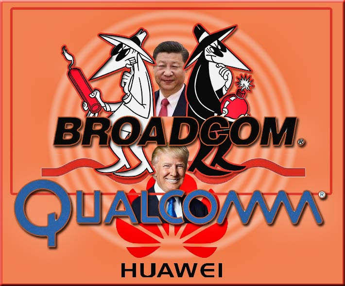 Department of Treasury officials believe that the acquisition could curtail Qualcomm's R&D and Huawei - a security threat to the US - could see an increase in market share.