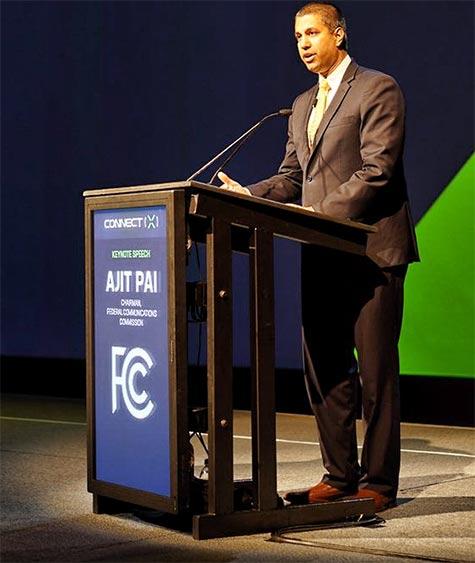 FCC Ajit Pai said