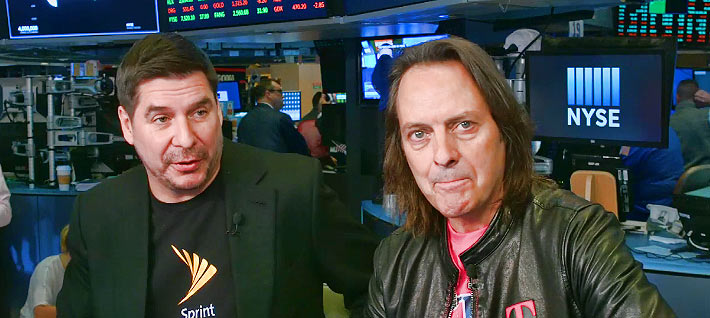 "DANCING WITH DETAILS - Sprint CEO Marcello Claure and T-Mobile CEO John Legere want to take on the titans of AT&T and Verizon. Two short years ago both executives were hurling insults at each other. Claure, in a tweet, replied to Legere, ""You are truly a con artist."" If he is, he'll need to use that skillset to convince regulators that the merger is solely about their desire to make the USA the world leader in 5G."