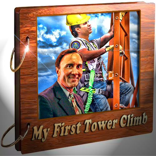 FCC Chairman Ajit Pai took Congressman Pete Wilson up on his suggestion that he should climb a tower since Commissioner Brendan Carr has. Wilson then said that he would also join him in putting boots on the steel.