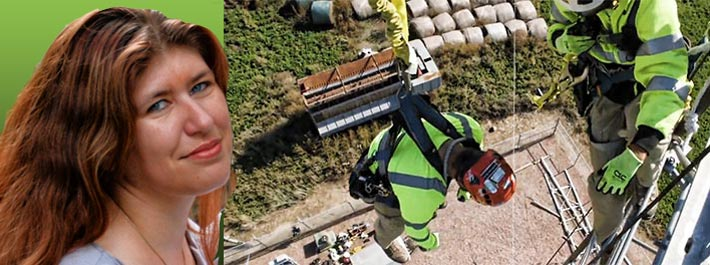 """""""It is paramount that all tower crews working in the industry receive consistent rescue training and refresher training in accordance with the NATE Tower Climber Training Standard guidelines,"""" said Denise Frey from D&A Construction Management, Inc"""