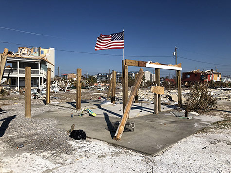 Mexico Beach , Florida was the hardest hit community following Hurricane Michael's landfall