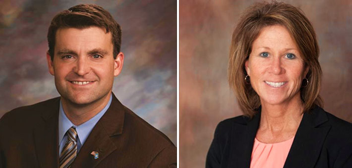 Todd Schlekeway and Paula Nurnburg will continue to lead NATE during the Association's continued growth and influence in the industry as well as with legislators and regulators