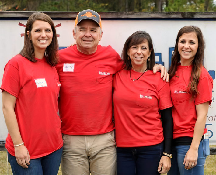 Whereas many company owners will groom their sons to take an active role in management, Jimmy Miller and his wife, Tonia's daughters, Amanda McGuire (left) and Jordyn Ladner didn't have to be coaxed.