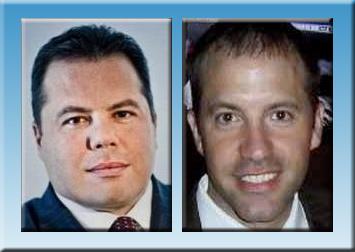 QualTek CEO Scott Hisey, left, and Vertical Limit CEO Erik Bicknese