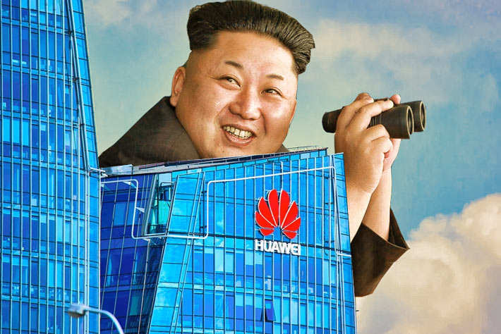 Huawei-North.Korea