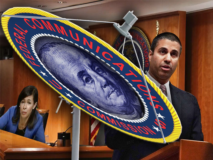 IN BEN WE TRUST - FCC Chairman Ajit Pai's C-band auction announcement was welcomed by many organizations, but not by shareholders of satellite communication companies such as Intelesat whose stock plummeted 49% this afternoon. The