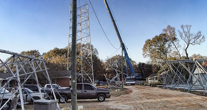 Multiple Pegasus Tower Co. techs were erecting sections with a crane when the fatality occurred. OSHA has issued a total of $140,720 in fines.