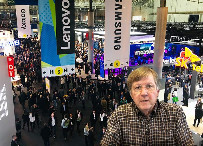 Eddie Edwards, President & CEO CommScope, said in a video announcement that the company would not be attending the world's biggest mobile tradeshow, Mobile World Congress, later this month due to concerns about the Coronavirus.