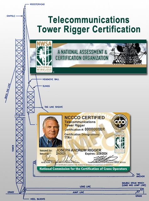 Telecommunications Tower Rigger Certification