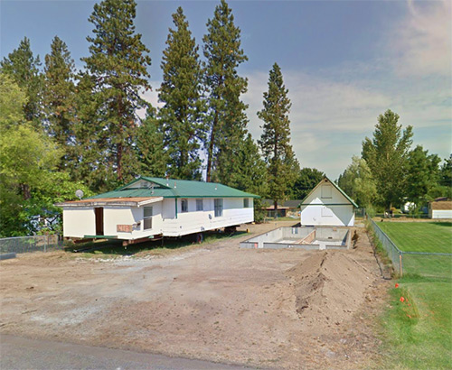 Welch allegedly purchased many properties such as this Osburn, Idaho location