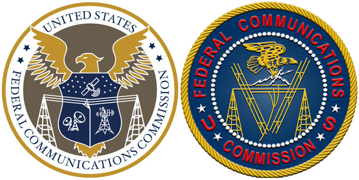 The new seal, at left, will replace the embroidered gold and blue design that has been a hallmark of the agency. The new design represents