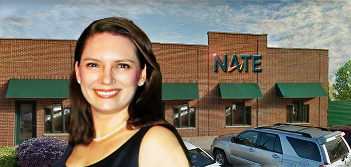 Sara Goddard will be managing NATE's marketing.