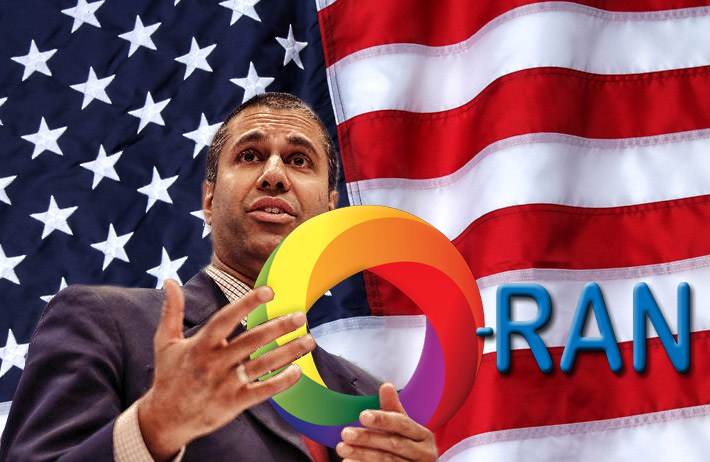 """Here's what I can say with confidence: innovation and competition make for a stronger, healthier telecom ecosystem. That's why so many are excited about Open RAN's potential."" - FCC Chairman Ajit Pai"