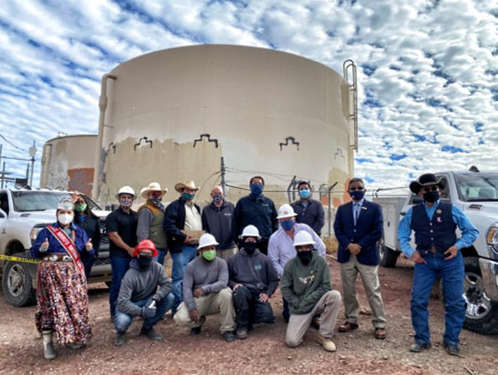 Navajo Nation leaders,