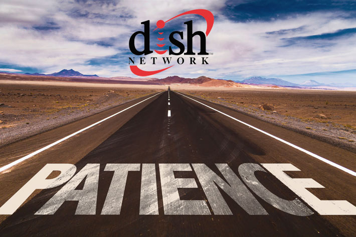 American Tower said that they had no Dish MLA, but they were going to 'patient' because they believe they've already built the infrastructure and Dish will come